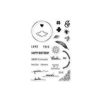 Hero Arts/ Stucio Calico Clear stamps Love This