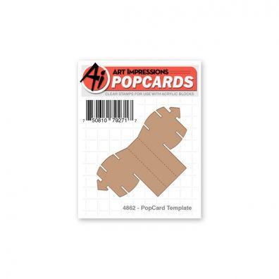 Art Impressions - PopCard Template