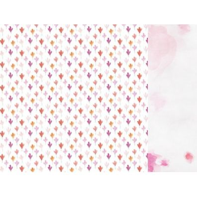 "KaiserCraft - Wildflower ""Wildflower Fleur"" 12x12 dobbeltsidet mønsterpapir"