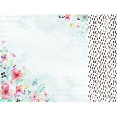 "KaiserCraft - Wildflower ""Wildflower Spring"" 12x12 dobbeltsidet mønsterpapir"
