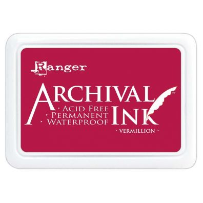 Archival Ink Pads - Vermillion
