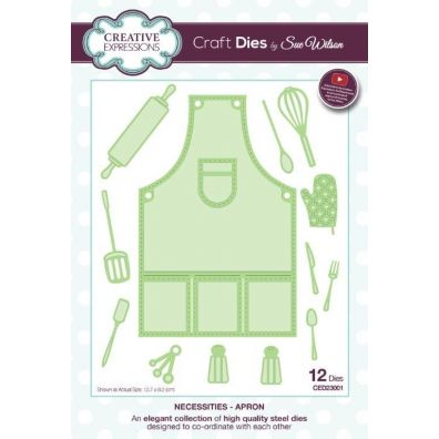 Creative Expressions Die Necessities - Apron