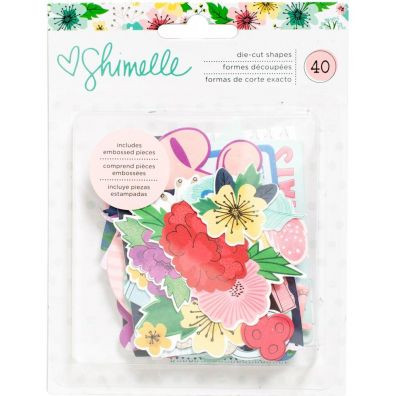 American Crafts - Shimelle Little by Little - Die-Cuts