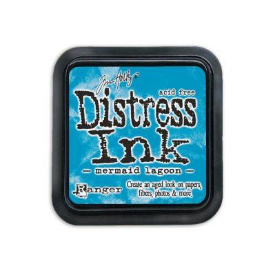 Distress Ink Mermaid Lagoon
