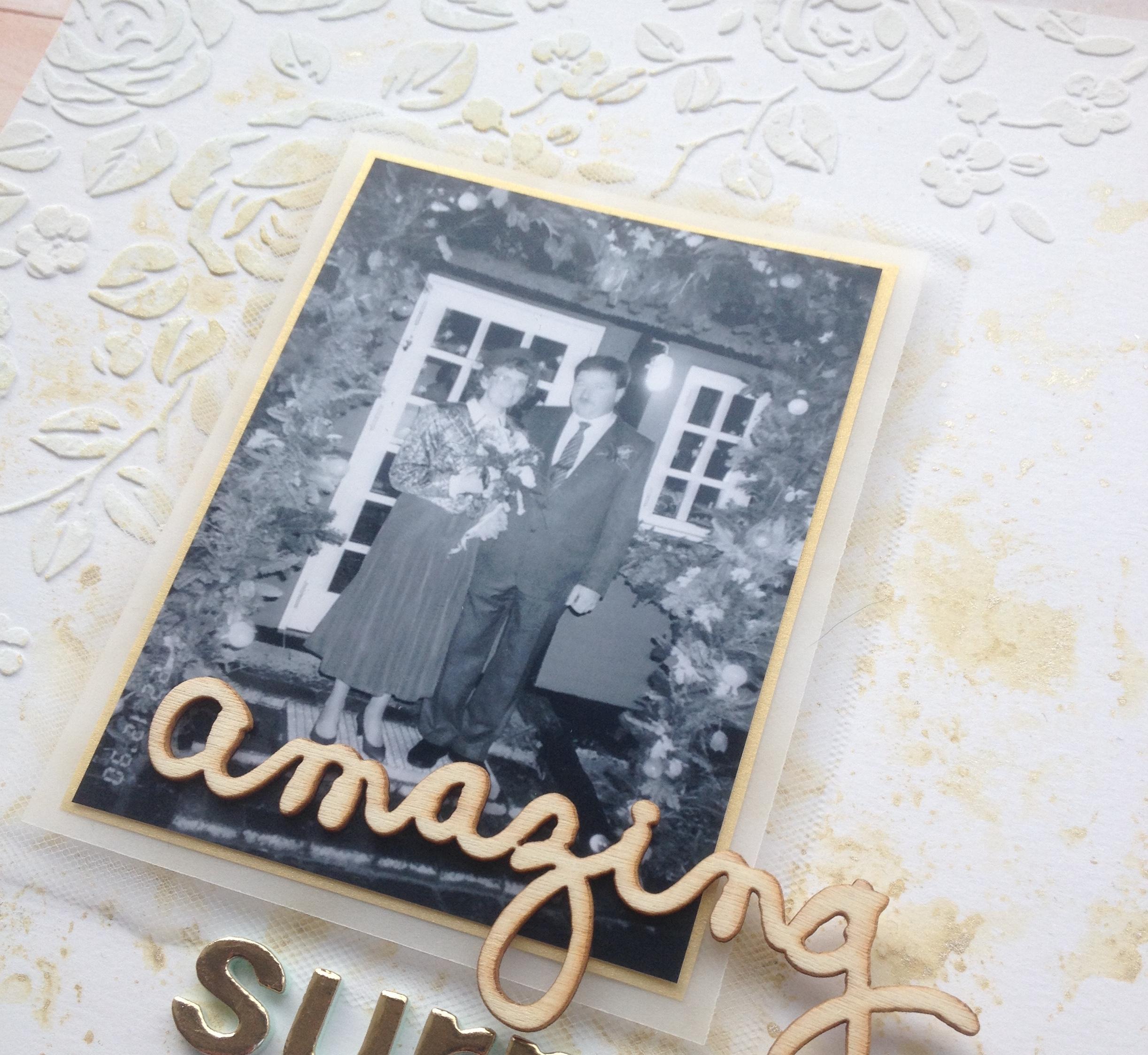 Simpelt bryllups layout