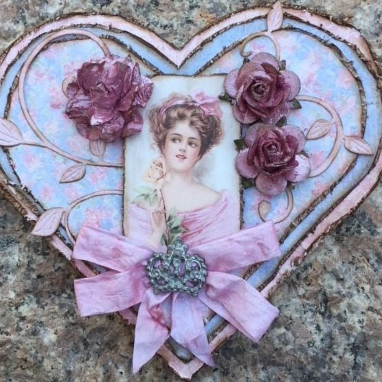 Et romantisk hjertekort