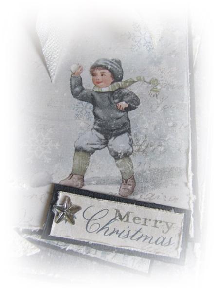 Et julekort med Maja design