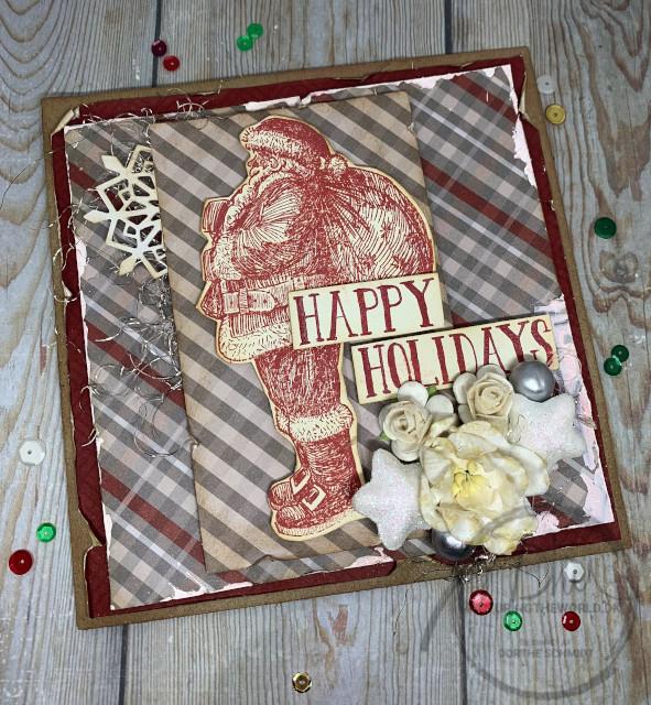 Klassisk julekort