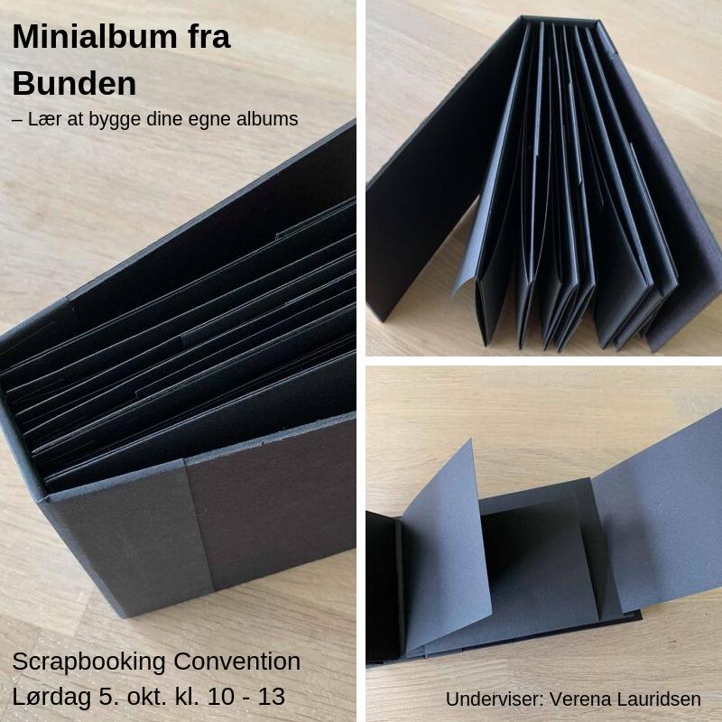 Kurser til Scrapbooking Convention Efterår 2019
