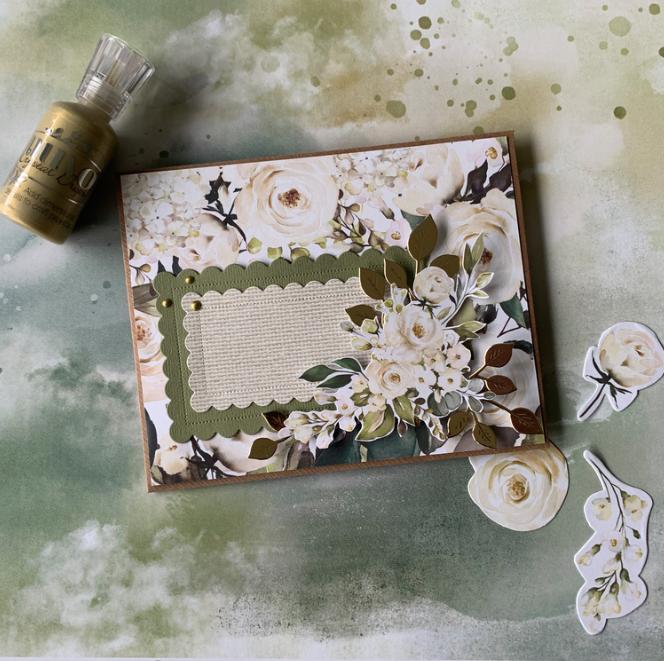Romantisk kuvert med junikit